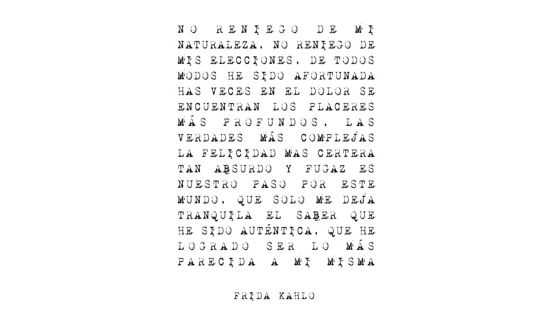 Frida Kahlo, camisetas com frase da Rockfella coleção Society.