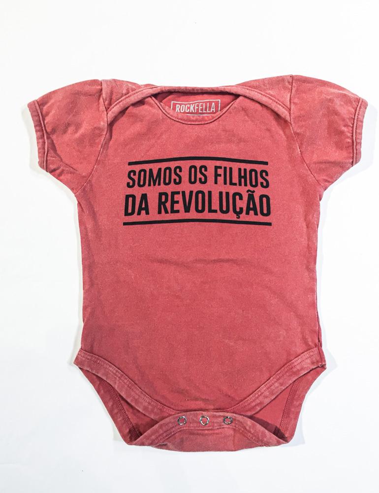 Body Infantil Filhos da Revolução